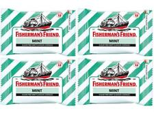 4 pack Fisherman s Friend Mint Sugar Free Lozenges Cough Cold Flu Sweeteners 25g