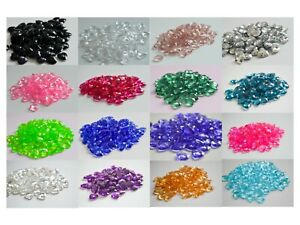 Heart Scatter Crystals Table Decoration Wedding Anniversary Party Confetti 12mm