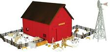 NEW Ertl Western Ranch Set, Over 65 Pieces, 1/64 Scale, Ages 5+ (TBEK12278)
