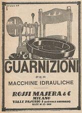 Z2155 Rossi Masera - Guarnizioni - Pubblicità d'epoca - Advertising