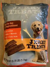 Jerky Treats Dog Food Snacks Beef Jerky Treats 60 Oz ( 3.75 Lb ) Produced In Usa