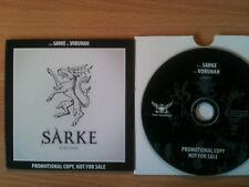 SARKE~'VORUNAH'~RARE NORWAY PROMO ONLY CD 2009~THRASH METAL~NEW