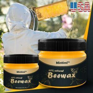 Beeswax Furniture Polish,Wood Seasoning Beewax - Natural Wood Wax Traditional