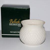 Belleek Collectors Society Thistle Bowl #0819 Ireland NIB