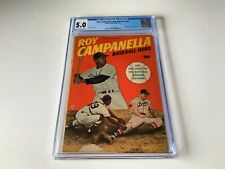 ROY CAMPANELLA BASEBALL HERO NN CGC 5.0 DODGERS BRAVES COVER MLB FAWCETT COMICS