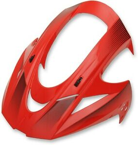 Icon Visor Replacement Icon Helmets Red/Variant Pattern All Sizes