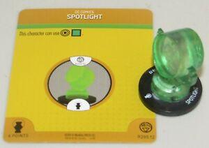 Lampe Spot #R200.12 Guerre De Clair Dc Heroclix Vert Lanterne Corps Construction