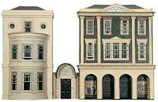Regency Period Shops & House - Superquick C4 - OO Low Relief kit - free post