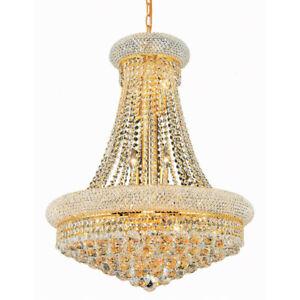Empire Gold Crystal Chandelier Light Chrome Crystal Chandelier Lustre Lighting