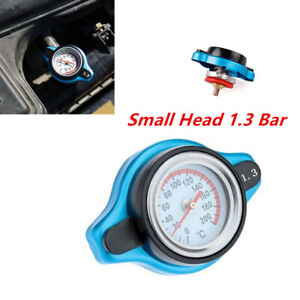 Small Head / 1.3 Bar Racing Car Thermost Radiator Cap Cover Water Temp Meter