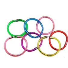 3x Lucid Ballpoint Pen Combine Bangle Bracelet Colorful Wristband Novelty
