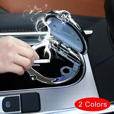 Car Auto Parts LED Light Ash Tray Astray Cendrier Cup Holder Cigarette Smokeless