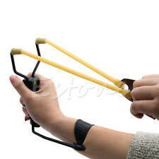 Wrist Sling Folding Shot Slingshot Hunting w/h Velocity NEW