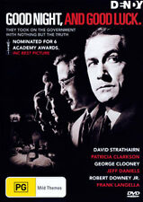 George Clooney Robert Downey Jr David Strathairn GOODNIGHT, AND GOODLUCK DVD