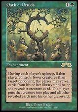 Giuramento dei Druidi - Oath of Druids MTG MAGIC Ex Exodus Ita EXC-NM