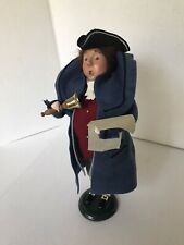 Byers Choice Williamsburg Colonial Man With Bell 2002