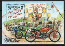 IOM 1996 TT Festival Fortnight £1 miniature sheet MNH