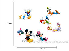 Mickey Mouse Donald Wall Sticker Removable Kids Nursery Room Decal