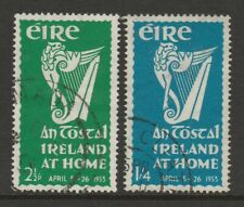 Ireland 1953 'An Tostal' pair SG 154-155 Fine used.