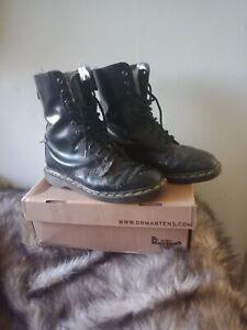 Dr.Martens 1460 Black Unisex Leather Boots