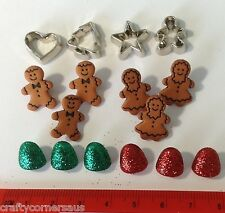 Holiday Treats Christmas Buttons by Dress It Up Jesse James Buttons 2472
