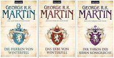 Das Lied von Eis und Feuer Band 1,2,3 Game of Thrones von George R.R. Martin