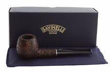 Savinelli Tre 207 Tobacco Pipe - Rustic