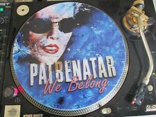 "Pat Benatar - We Belong (Best Shots) 12"" PICTURE DISC PROMO SINGLE LP RARE"