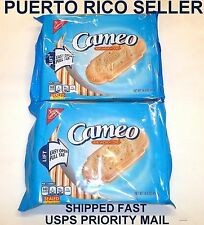 Puerto Rico Cameo Vanilla Wafers Cookies Galletas Candy Sweets Snacks Recipi2pkA