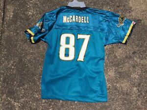 Boys Large NWT Champion  Vintage NFL Jacksonville Jaguars McCardell Jersey VTG