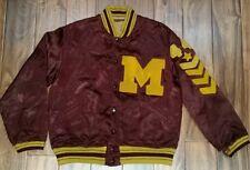 Vintage 1944 Ncaa University of Minnesota Gophers Letterman Jacket Mens Medium