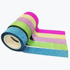 New Fashion 5x Washi Sticky Paper Masking Adhesive Decorative Tape Gift
