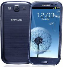 Samsung Galaxy S3 GT-I9300 - 16GB - Pebble Blue Blau - Android - Smartphone