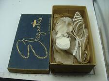 original store stock shoes - Rogers of Boston - Elegants 7 1/2 M white spegetti
