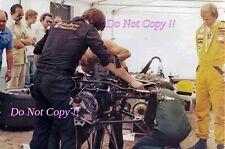Ronnie Peterson JPS Lotus Portrait Italian Grand Prix Saturday 1978 Photograph 1