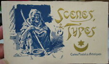 c1920s Scenes and Types postcard booklet - N Africa Arab world - 20 views