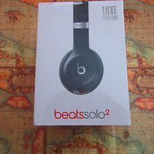 Beats by Dr. Dre Solo2 Wired On-Ear Headphones Luxe Edition - Black