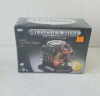 Lincoln Mint Dodge 426 Hemi Engine Ultra Metal Series 1/6th Scale Assembled NIB