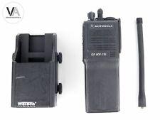 Set Motorola 2m BOS Funkgerät GP 900-11b + Wetech GPN6139D Kfz-Ladehalterung