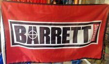 BARRETT Firearms 3x5 FT Flag 50 cal caliber sniper rifle gun sign hunting BANNER