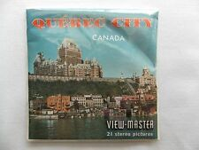 Quebec City  Canada   View Master  Packet  1960s  NIP  Sealed