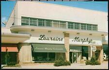 MANHASSET LI NY Lauraine Murphy Restaurant Vintage Long Island Postcard Old PC