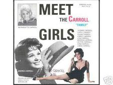 THE CARROLL GIRLS - Meet the Carroll Girls 60's Girlsound! CD