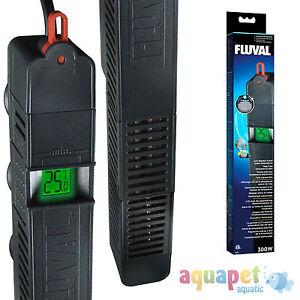 Hagen Fluval Advanced Electronic Aquarium E Heaters 50W 100W 200W 300W LCD