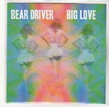 (DK541) Bear Driver, Big Love - DJ CD