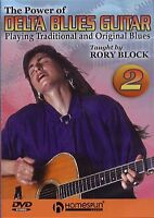 Rory Block Power Of The Delta Blues Guitar Learn to Play Country Music DVD 2