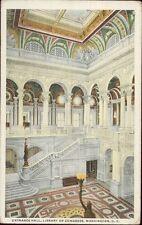 USA - Entrance Hall, Library of Congress, WASHINGTON