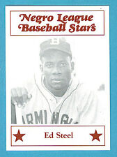Fritsch Negro League Baseball Stars Singles: #48 Ed Steel