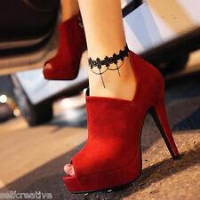 Women Handmade Gothic Black Lace Chain Flower Sandal Barefoot Ankle Foot Anklet