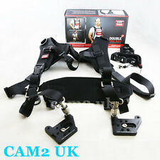 Carry Speed Double Pro Mark II 2-Camera Sling Strap for Canon Nikon Sony DSLR